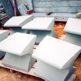 Sillas de concreto