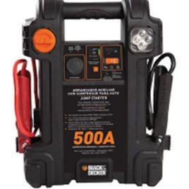 Iniciador de bateria 500Amp, Inflador, Cargador USB B&D