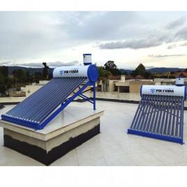 Calentador solar de agua de 100, 150 y 200 Litros
